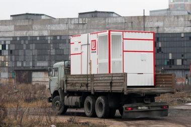 Отгрузка блок-контейнера для кислородной станции