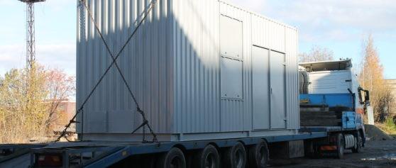 Отгрузка дизель-генераторных установок
